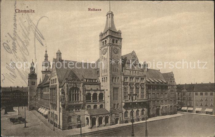 Chemnitz Rathaus Kat. Chemnitz