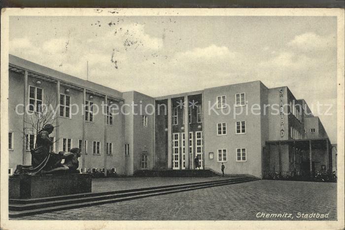 Chemnitz Stadtbad Kat. Chemnitz