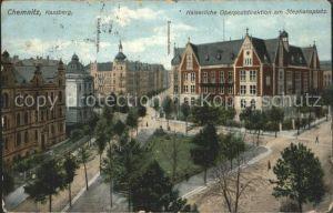 Chemnitz Kaiserliche Oberpostdirektion Stephansplatz Kat. Chemnitz