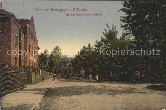 Zeithain Truppenuebungsplatz Kat. Zeithain