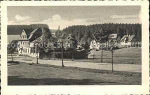 Steinbach Johanngeorgenstadt Hoehenluftkurort Wintersportplatz Gasthof und Sommerfrische Kat. Johanngeorgenstadt