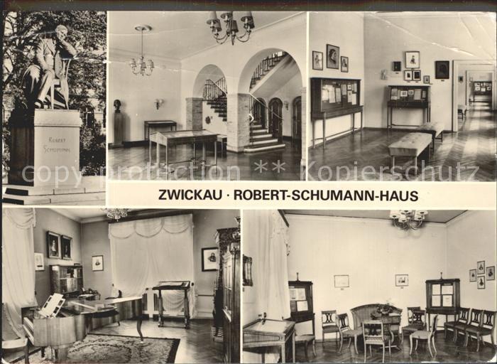 Zwickau Sachsen Robert Schumann Haus Kat. Zwickau