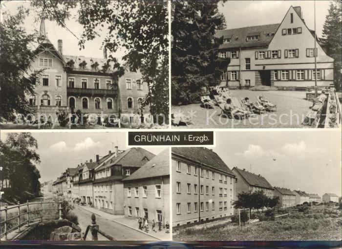 Gruenhain Erzgebirge Ortsansichten / Beierfeld Erzgebirge /Erzgebirgskreis LKR