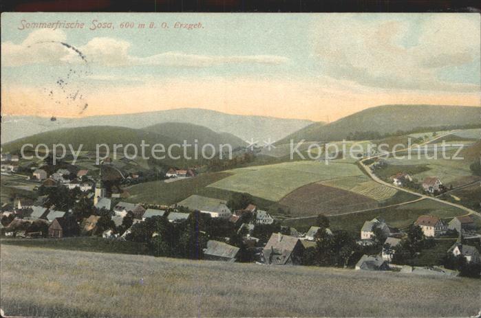 Sosa Erzgebirge  Kat. Sosa