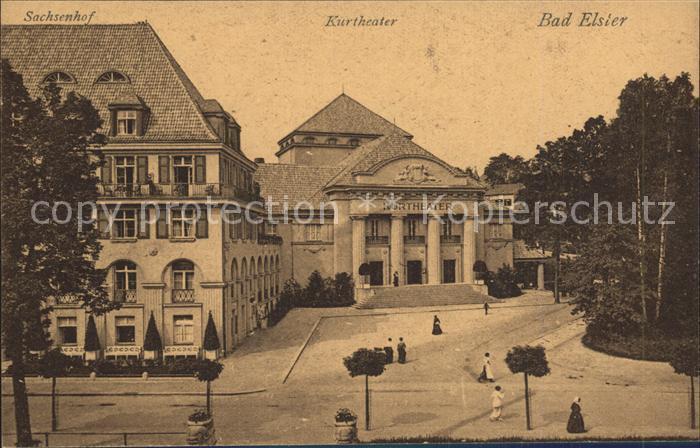 Bad Elster Kurtheater Sachsenhof Kat. Bad Elster