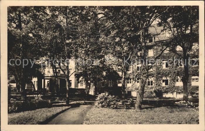 Senftenberg Niederlausitz Krankenhaus Kat. Senftenberg