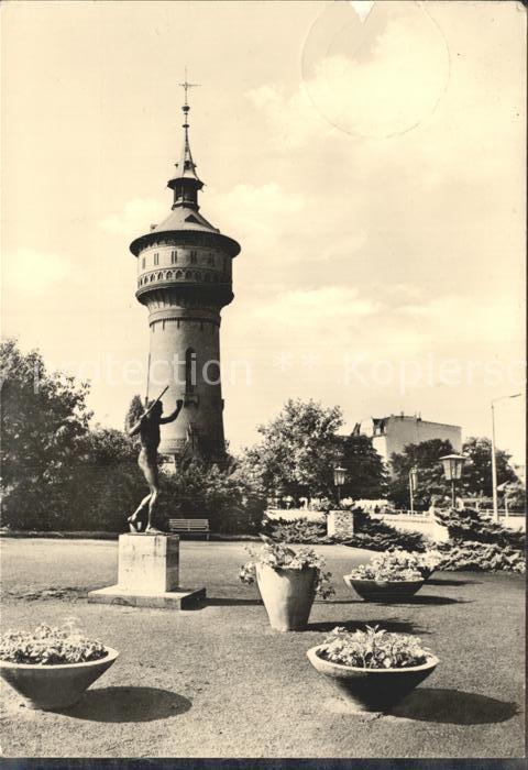 Forst Lausitz Wasserturm Kat. Forst Lausitz