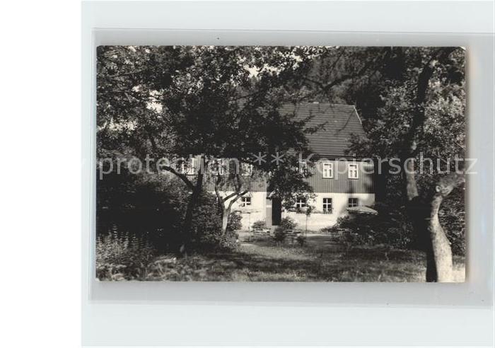 Sebnitz Gasthaus Buttermilchmuehle Kat. Sebnitz