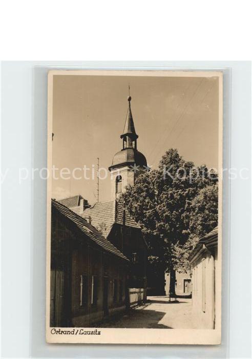 Ortrand Kirche Kat. Ortrand