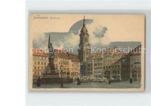 Dresden Altmarkt Kat. Dresden Elbe