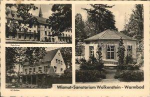 Warmbad Wolkenstein Wismut Sanatorium Kat. Wolkenstein