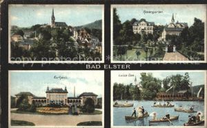 Bad Elster Rosengarten Kurhaus Luisa  See Kat. Bad Elster