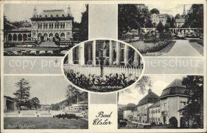 Bad Elster Rosengarten Badeplatz Kurhaus Kat. Bad Elster