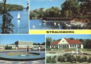 Strausberg Brandenburg Straussee Haus der NVA Klub am See Park der Solidaritaet Kat. Strausberg