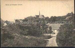 Chorin Blick auf Kloster Chorin Kat. Chorin
