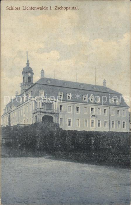 Lichtenwalde Sachsen Schloss Lichtenwalde / Niederwiesa /Mittelsachsen LKR