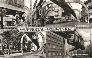 Vohwinkel Wuppertal Kaiserstrasse Schwebebahn Kat. Wuppertal