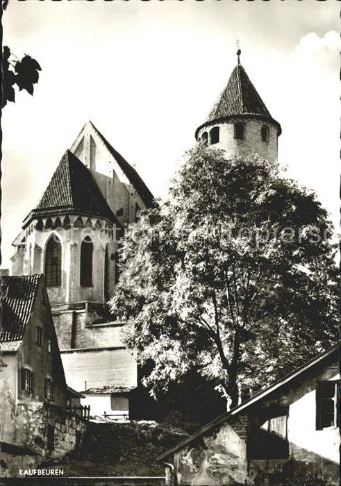 Kaufbeuren St. Blasiuskirche Kat. Kaufbeuren