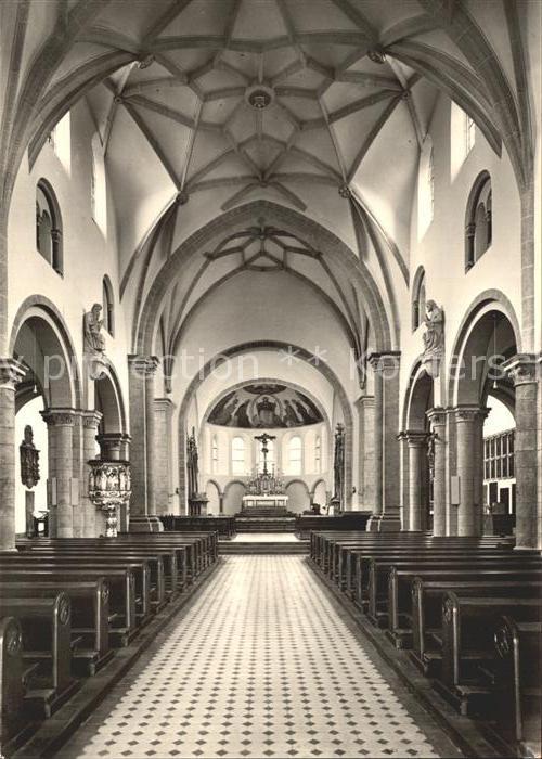 Koblenz Rhein St. Kastor Kirche innen Kat. Koblenz