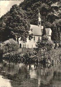 Neuwied Rhein Kreuzkapelle an der Wied Kat. Neuwied
