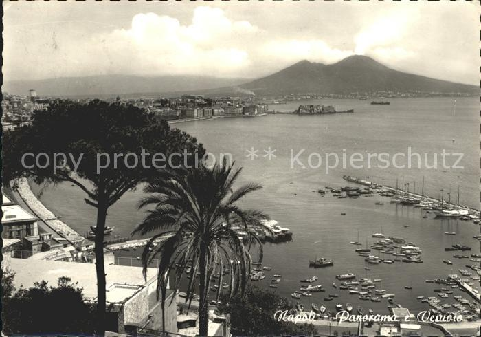 Napoli Neapel Vesuv Kat. Napoli