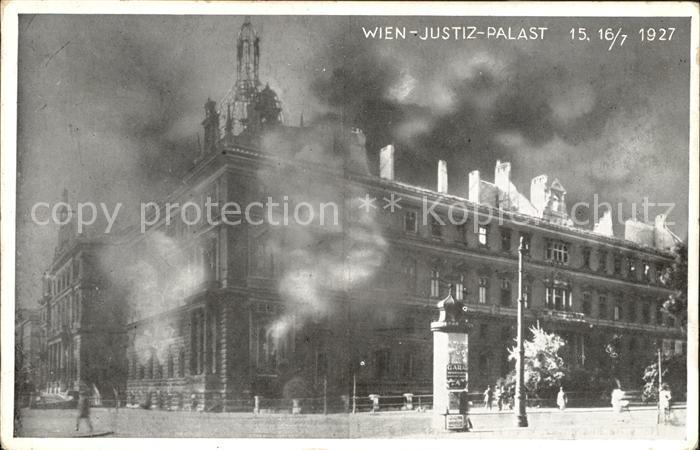 Wien Justiz Palast Kat. Wien