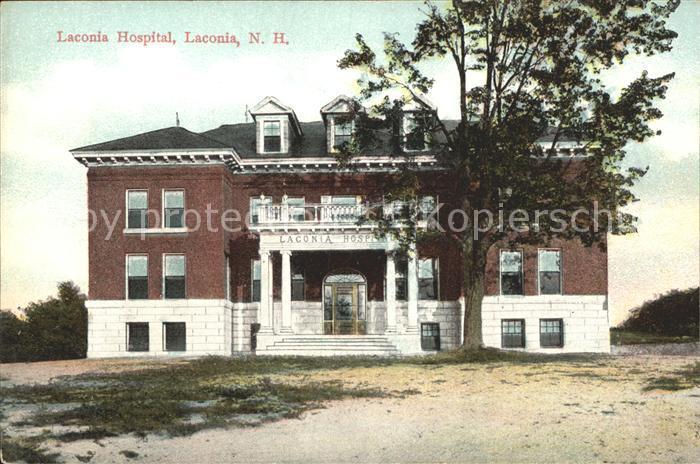 Laconia New Hampshire Laconia Hospital Kat. Laconia