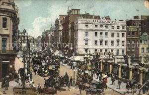 London The Strand and Charing Cross Station Kat. City of London