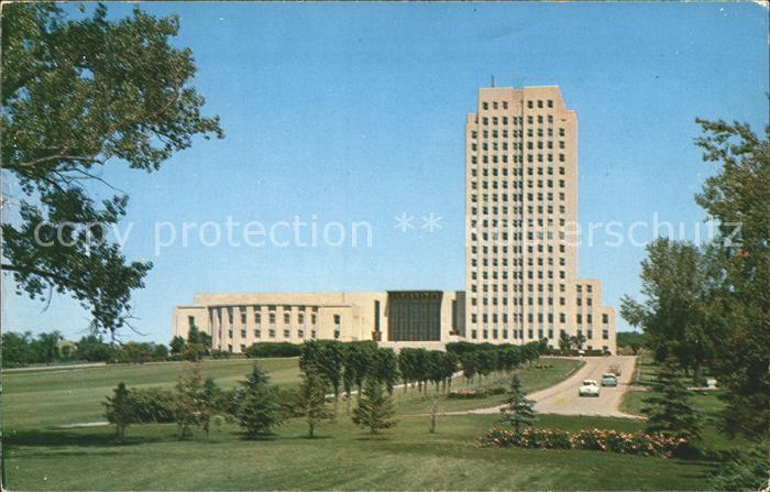 Bismarck North Dakota State Capitol Kat. Bismarck