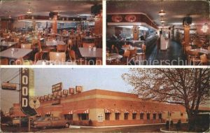 New Castle Delaware Clementes Cafeteria Greyhound Rest Stop Restaurant Kat. New Castle