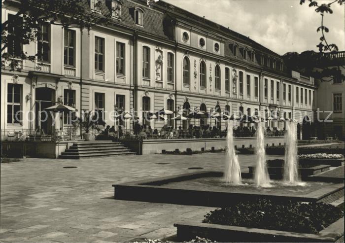 Berlin Operncafe Springbrunnen Hauptstadt der DDR Kat. Berlin