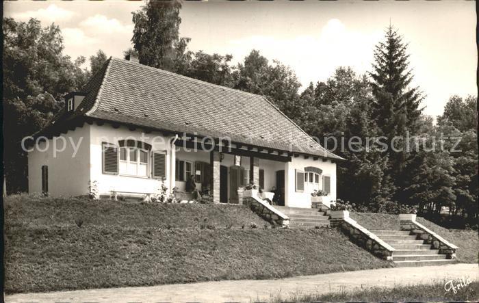 Zirndorf Mittelfranken Kneippkurhaus Badehaus Kat. Zirndorf