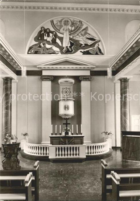 Husum Nordfriesland Kirche St Marien Altar