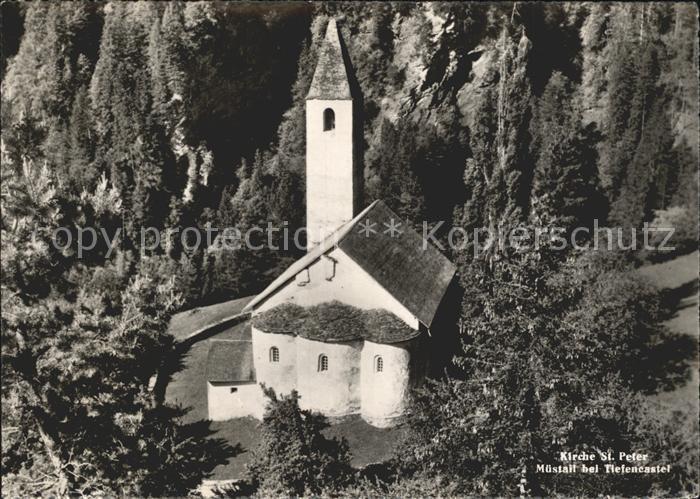 Tiefencastel Kirche St Peter  Kat. Tiefencastel