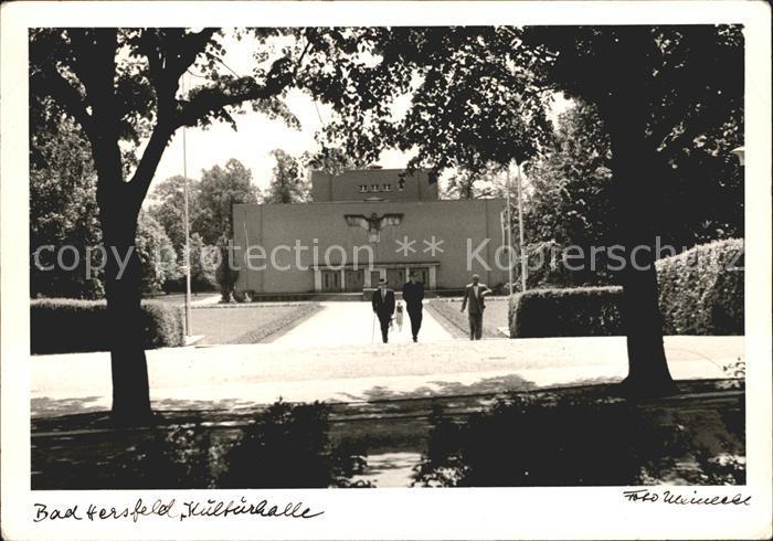 Bad Hersfeld Kulturhalle  Kat. Bad Hersfeld