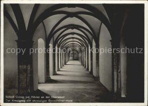 Corvey Kreuzgang Benediktiner Abtei Kat. Hoexter