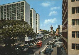 Colombo Ceylon Sri Lanka Queens Street Kat. Colombo