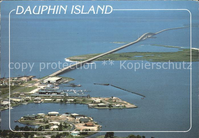 Dauphin Island Fliegeraufnahme Kat. Dauphin Island