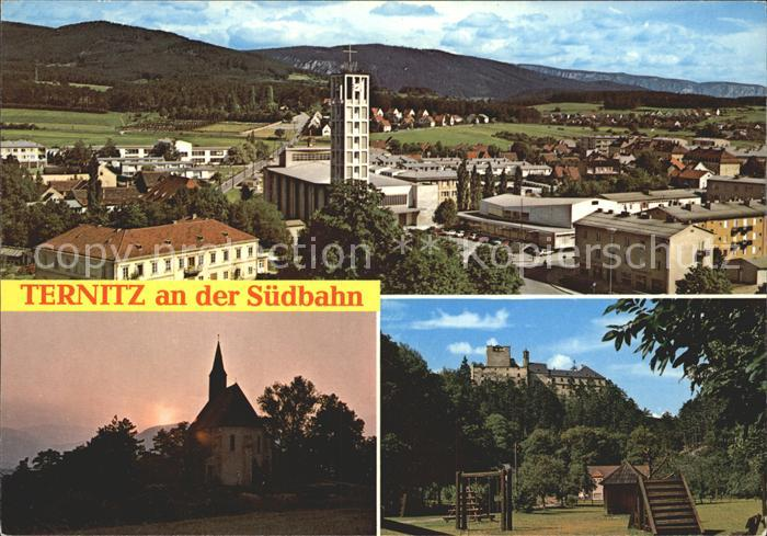 Ternitz Kirche Burg  Kat. Ternitz Schwarzatal