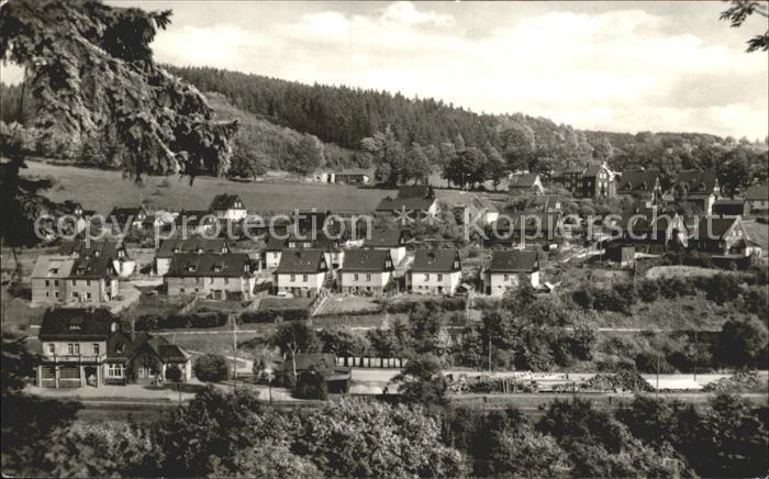 Wurzbach mit Siedlung Kat. Wurzbach