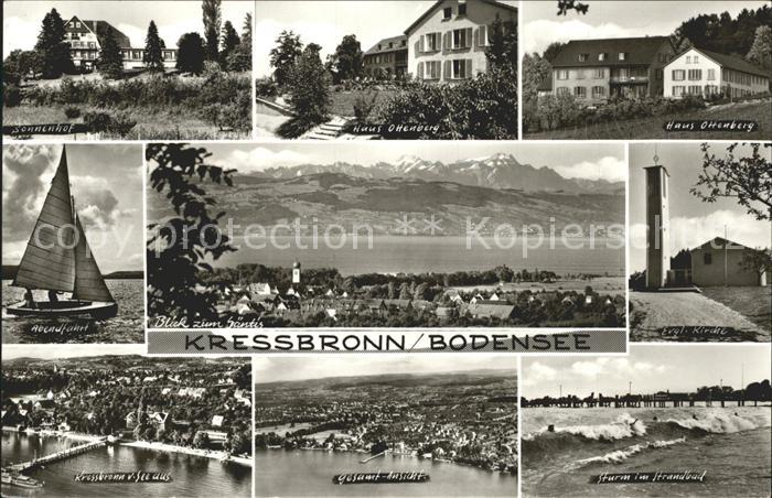 Kressbronn Bodensee  Kat. Kressbronn am Bodensee