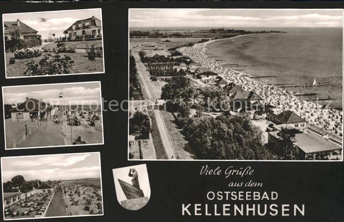 Kellenhusen Ostseebad Strand  Kat. Kellenhusen (Ostsee)
