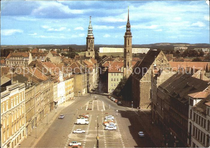 Goerlitz Sachsen Blick vom Reichenbacher Turm zum Leninplatz Kat. Goerlitz