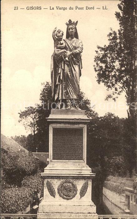 Gisors Eure La Vierge du Pont Dore  Kat. Gisors