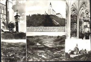 Poellauberg Wallfahrtskirche Inneres  Kat. Poellauberg Steiermark
