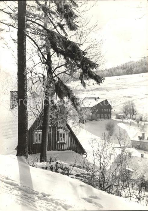 Waltersdorf Zittau Grenzbaude Lauschewiesen Kat. Grossschoenau Sachsen