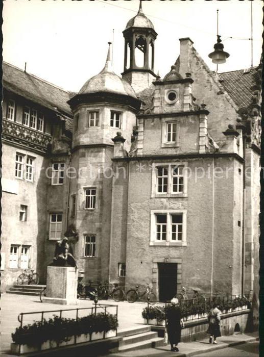 Bad Hersfeld Rathaus Ehrenmal  Kat. Bad Hersfeld