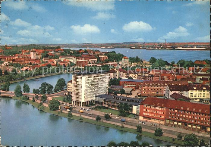 Kiel Blick auf Stadt und Hafen Kat. Kiel