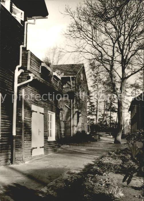 Ahlhorn Haupthaus des Ev Jugendheims Blockhaus Kat. Grossenkneten