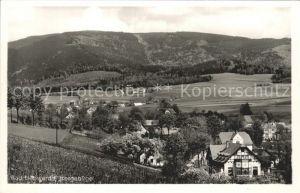 Bad Liebwerda Tschechien Panorama Isergebirge Kat. Lazne Libverda